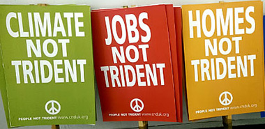 Trident placards